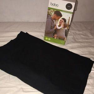 BOBA baby wrap in black